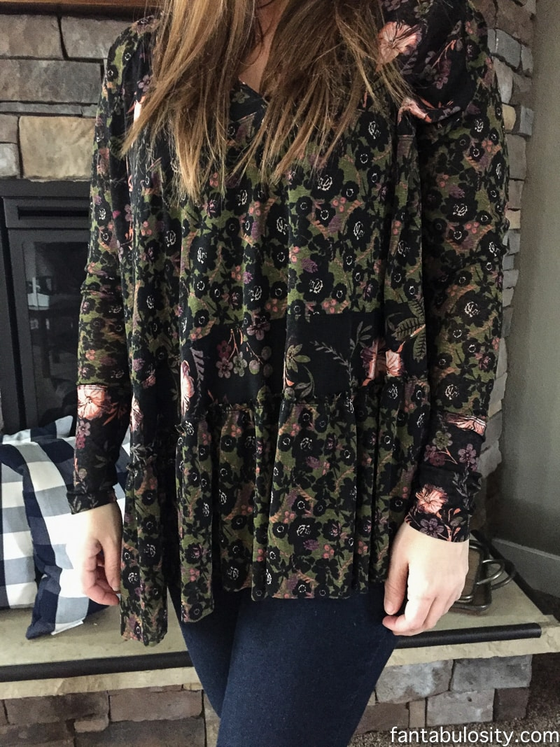 Isabelle Tunic Trunk Club Review Try On for February 2017 - Nordstrom