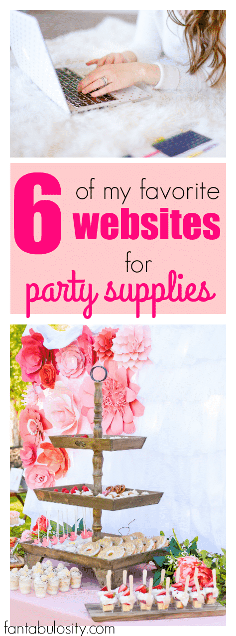 These Are Affordable Too! A List Of Party Supplies Websites. Iu0027ll Be