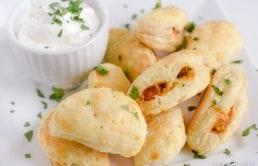 Cheesy Chicken Empanadas