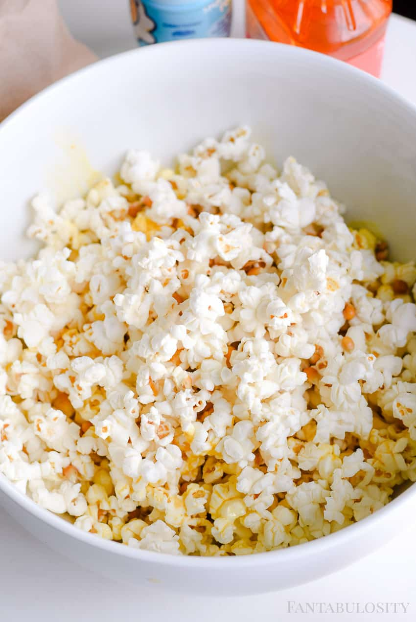 How to Make Homemade Popcorn in the Microwave in a brown bag and flavors and butter!