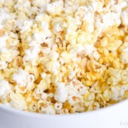 How to Make Homemade Popcorn in the Microwave in a brown paper bag. Without oil!