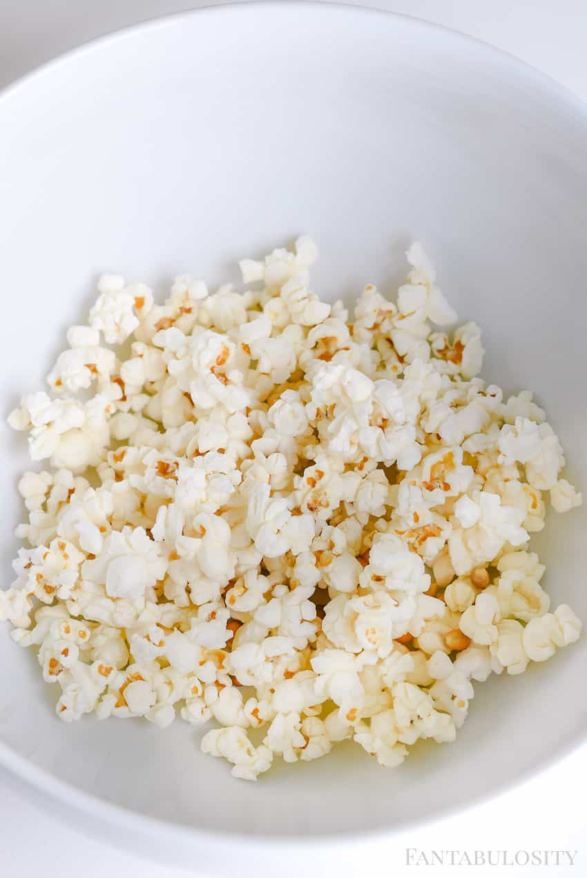How to Make Homemade Popcorn in the Microwave in a brown bag with no oils