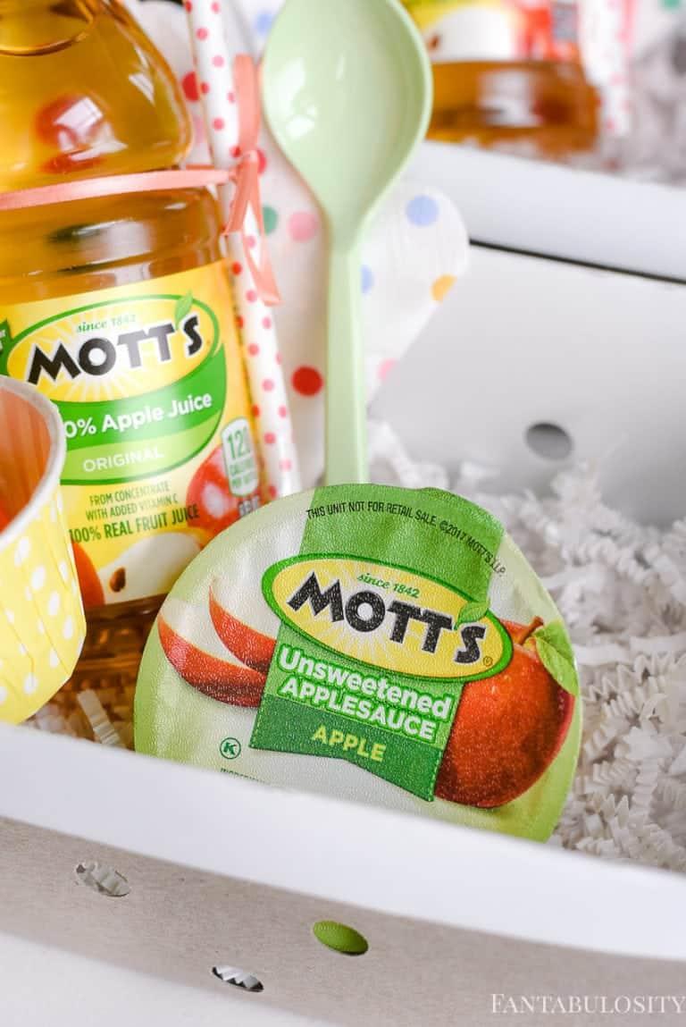 Watch me grow with Mott's