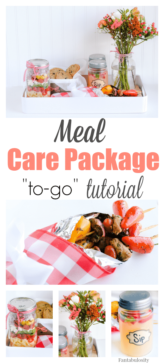 Meal Care Package for Families, a New Mom, or Friends