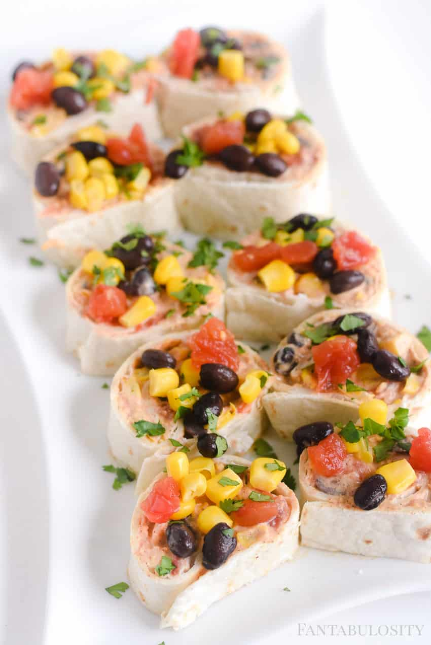 Easy Party Appetizer: Taco-Pinwheels