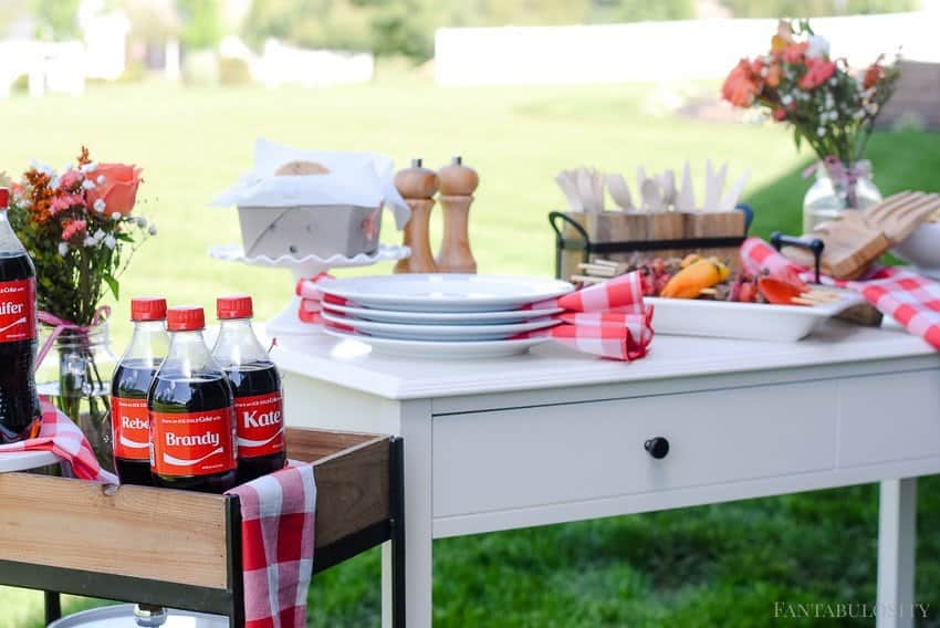 Summer Backyard Bash For The Girls Fantabulosity - Backyard bbq party ideas