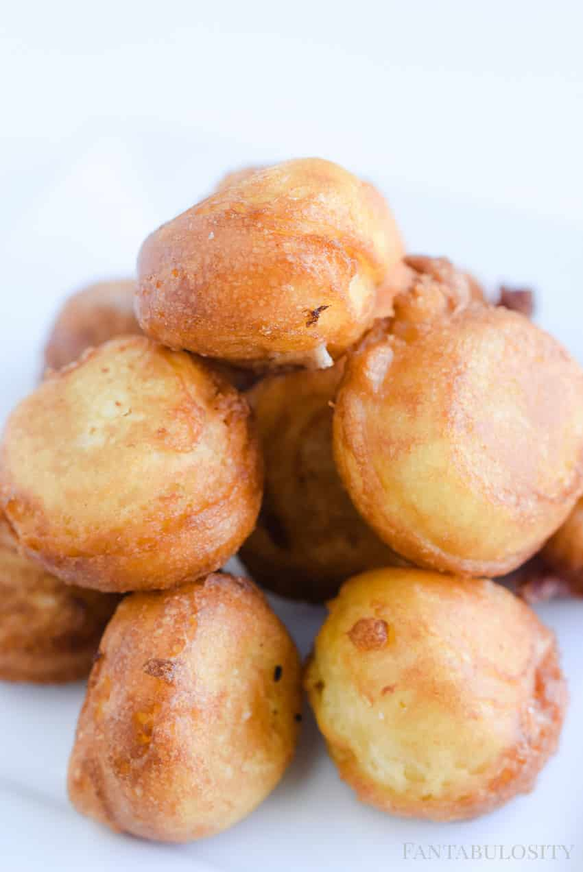 Fried Cake Bites - Carnival Food at home