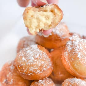 Fried Cake Bites - easy dessert idea