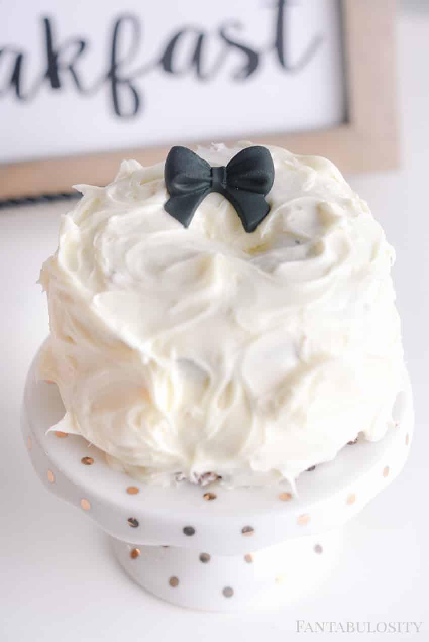 Mini cake ideas and tutorial