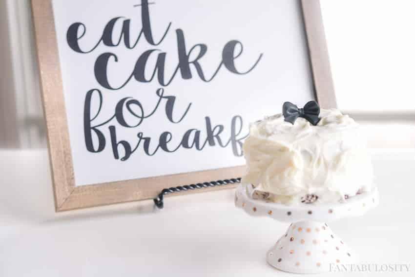 Mini cake ideas for smash cake, birthday, parties, etc.