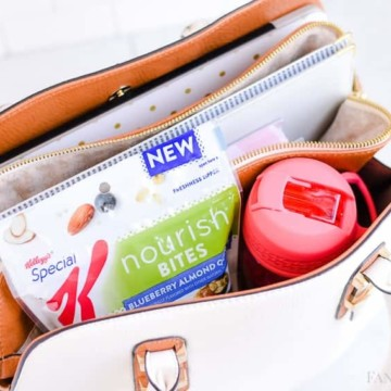 Mobile Office Day Bag Organization for blogger, mom running errands, handbag workbag!