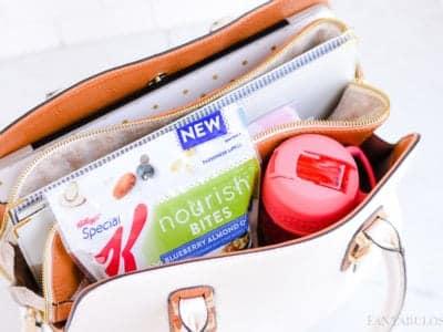 Mobile Office Day Bag Organization for blogger, mom running errands, handbag workbag!