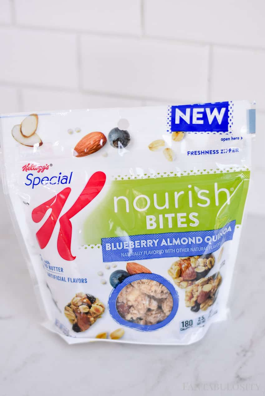 Special K Nourish Bites: Blueberry Almond