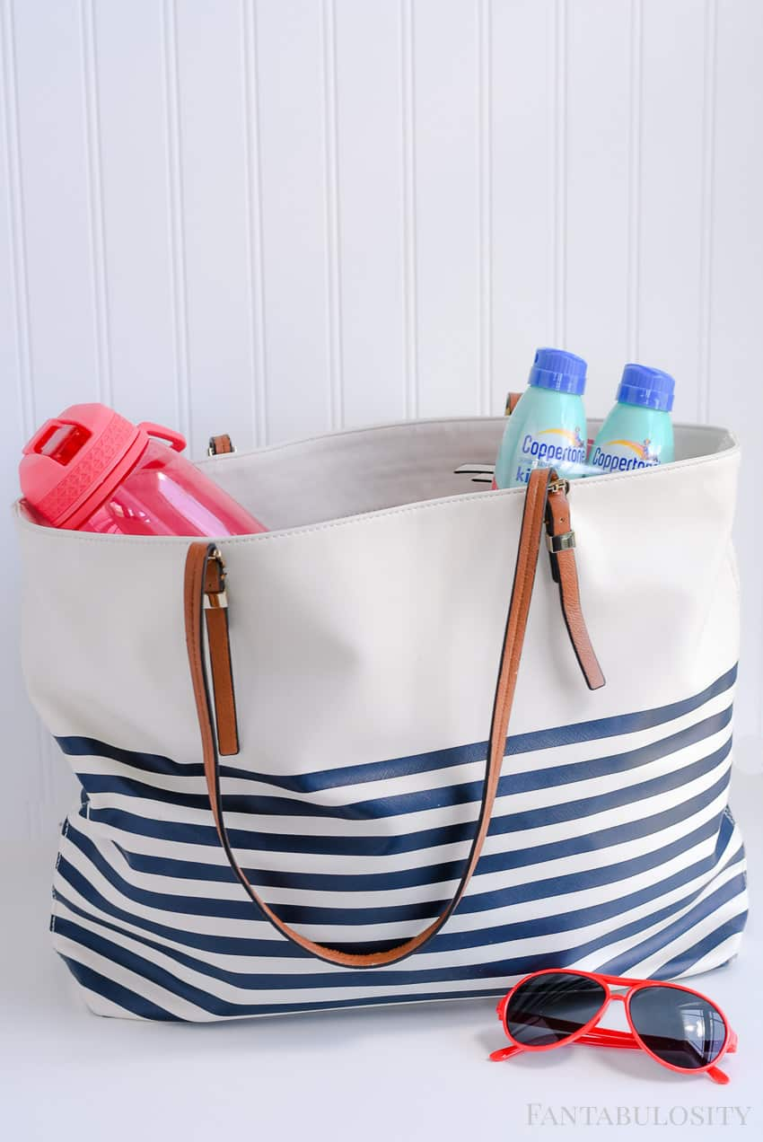 Summer bag essentials for on-the-go and last minute activities so you're always prepared and ready