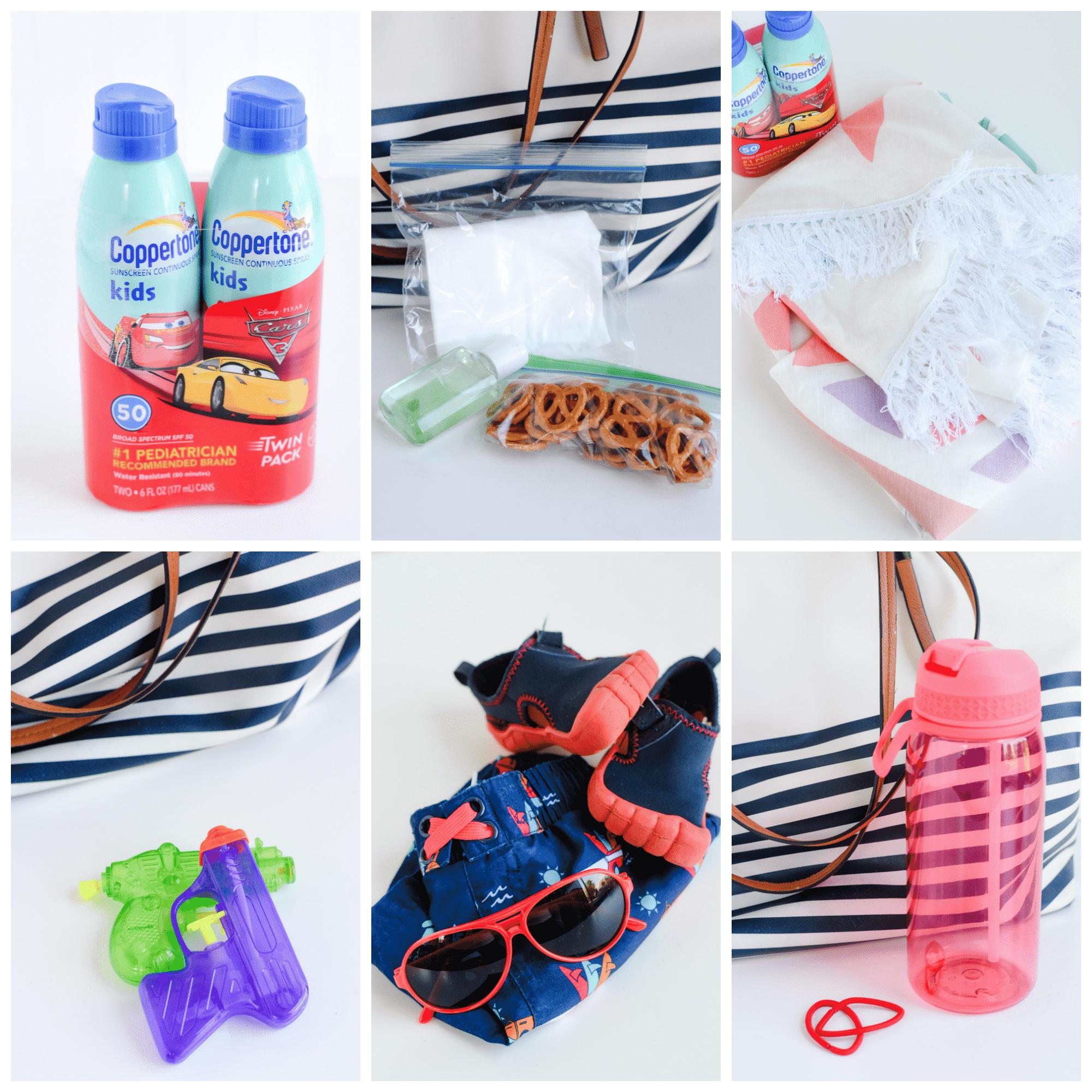 Summer bag of essentials