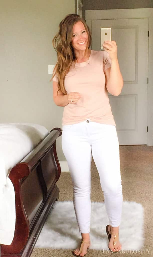 July 2017 Trunk Club Coral/pink tshirt from nordstrom. Love this style and classic shirt