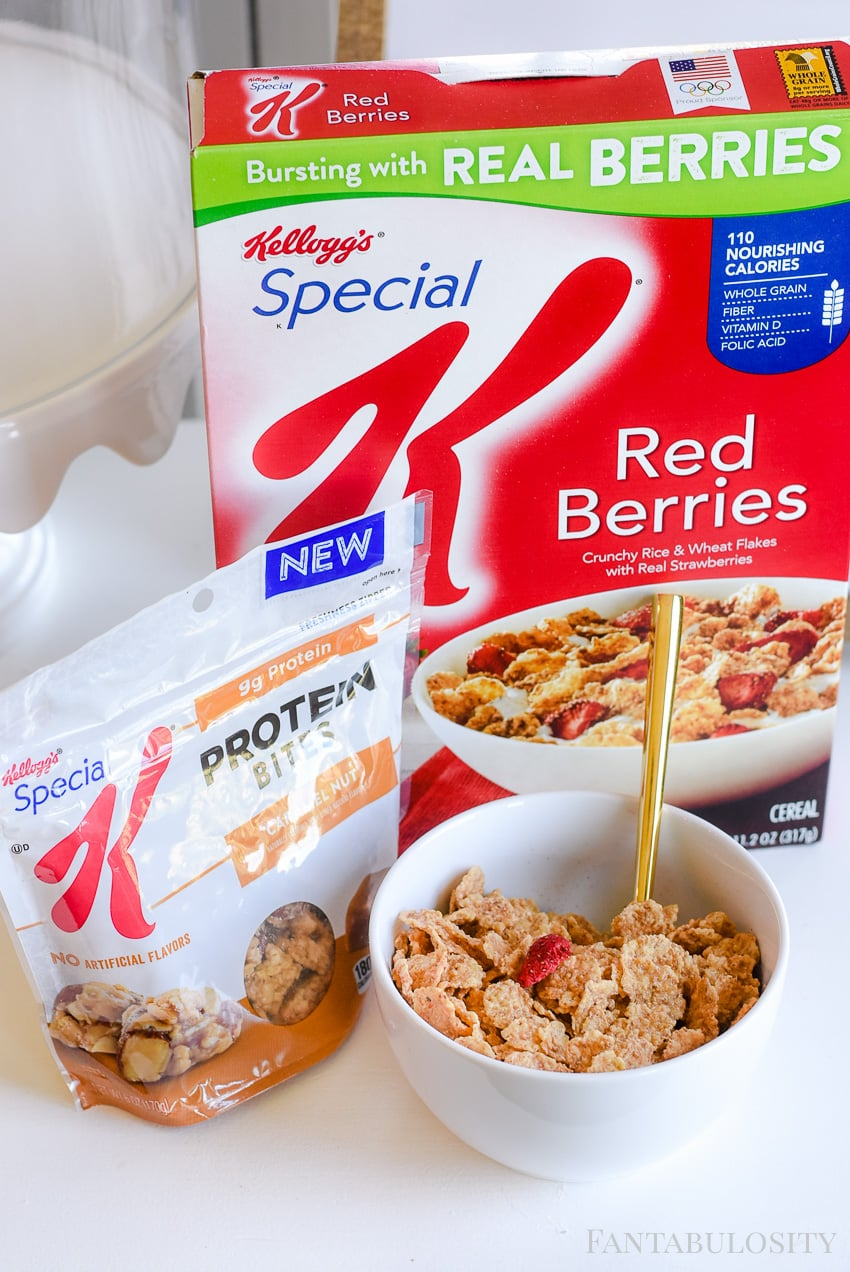 Workout at home - with special k