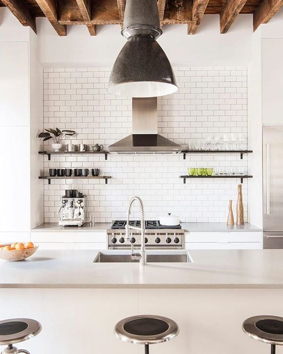 White Kitchen Inspiration for the Fantabulosity Studio Kitchen