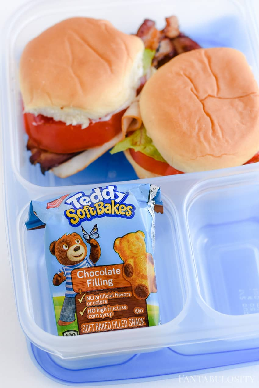 School Lunch ideas - using Ziploc for bento lunches