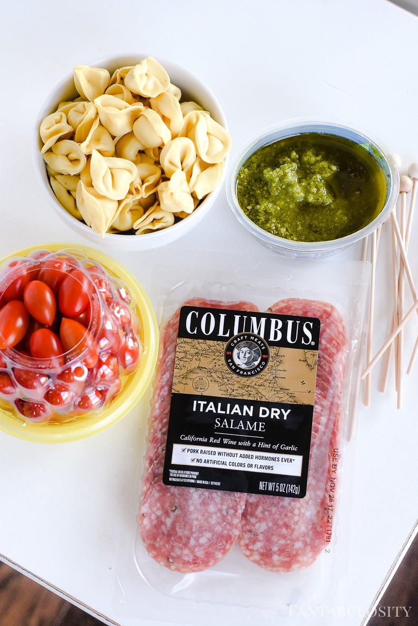 Columbus Meats appetizer for a summer soiree