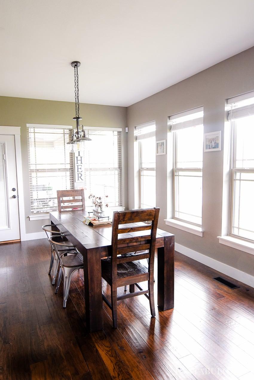 Breakfast Nook - Modern Farmhouse Craftsman Home