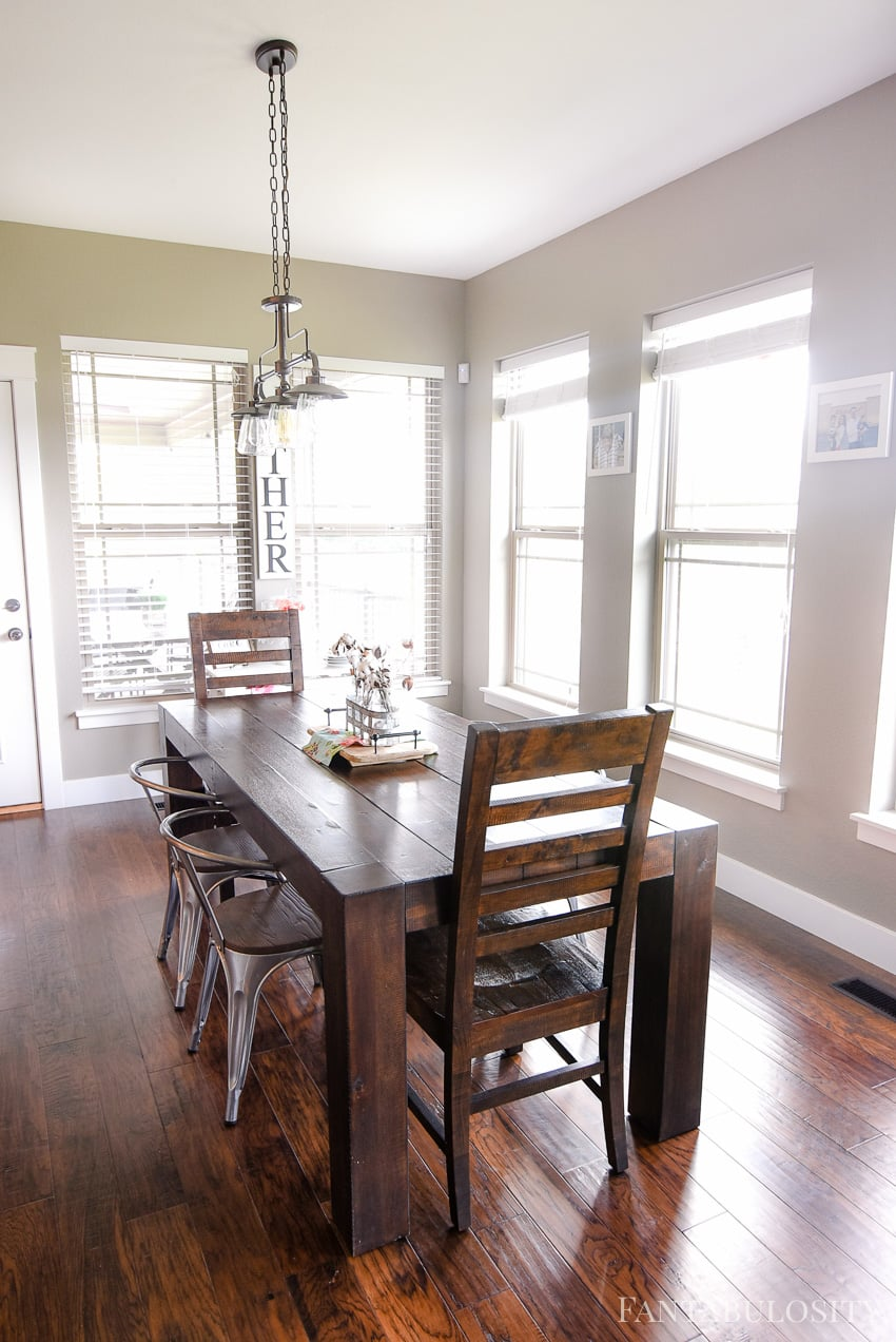 Home tour part 19 breakfast nook fantabulosity - What is a breakfast nook ...