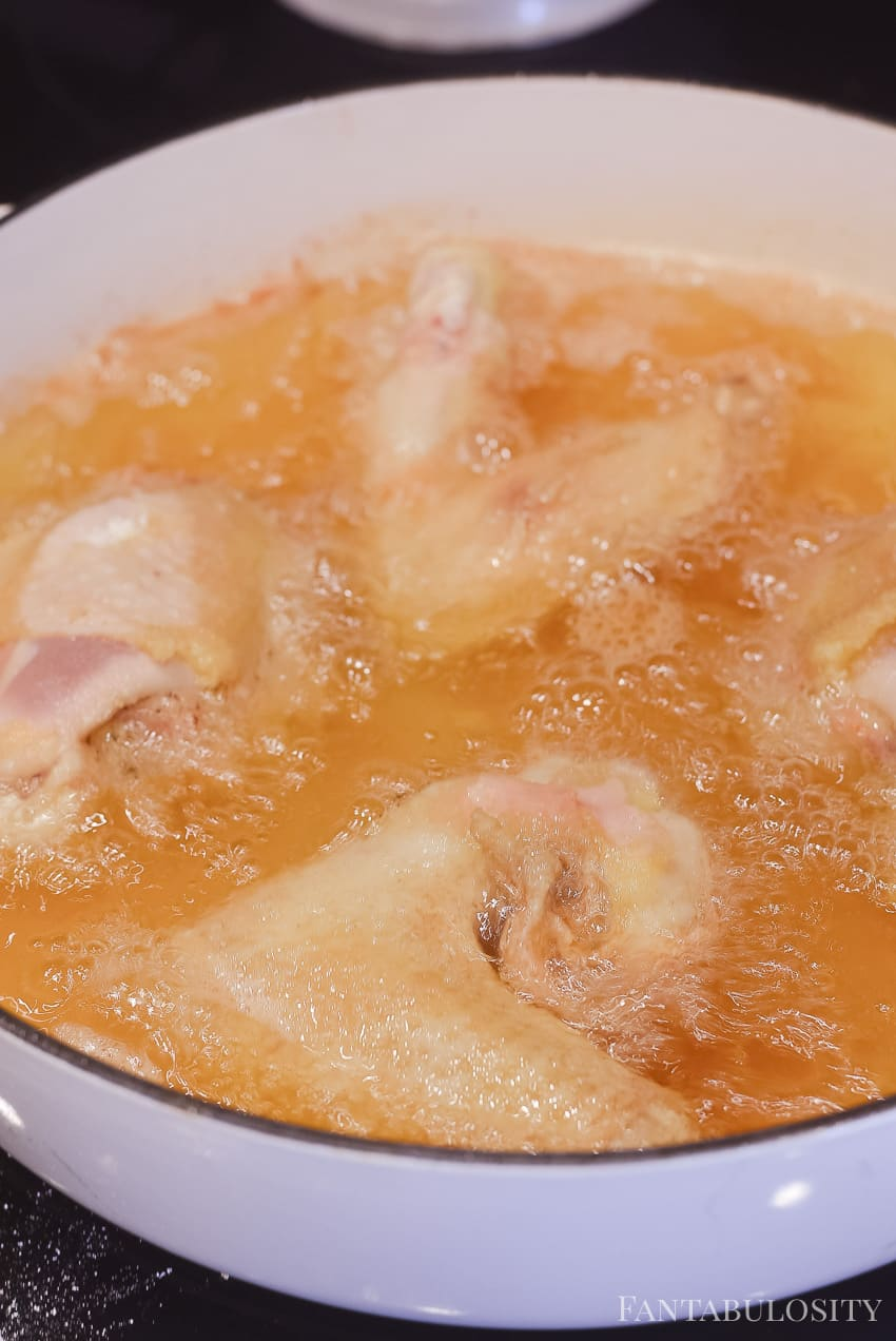 Frying a whole chicken: Easy Fried Chicken Recipe: This is the best I've had!