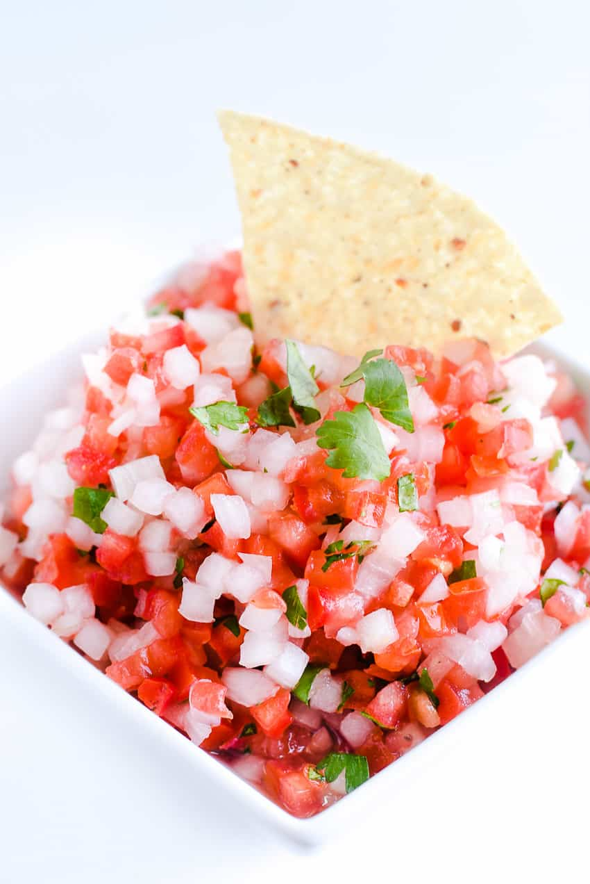 Easy Pico De Gallo Recipe - With using this technique, it makes an incredible fresh pico!