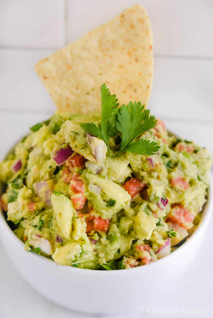 Guacamole Dip - How to Make Guacamole