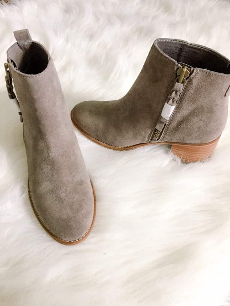 Gray Booties from Nordstrom's Trunk Club - September 2017 Fantabulosity