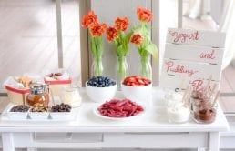 Yogurt and Pudding Bar Ideas