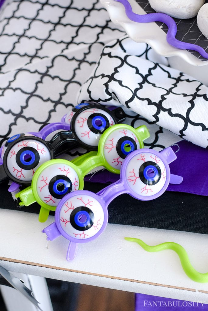 Halloween Party Favors - Monster Eye Glasses