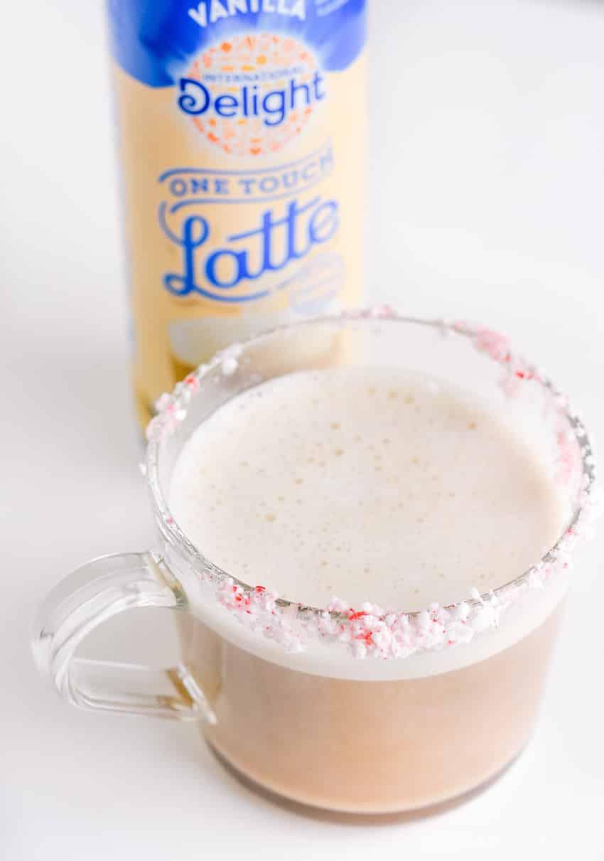 Use the Vanilla International Delight Vanilla One Touch Latte
