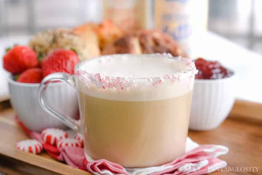 Peppermint Vanilla Latte - One Touch Latte recipe at home
