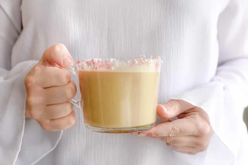 Mmmm! A peppermint vanilla latte sounds incredible.