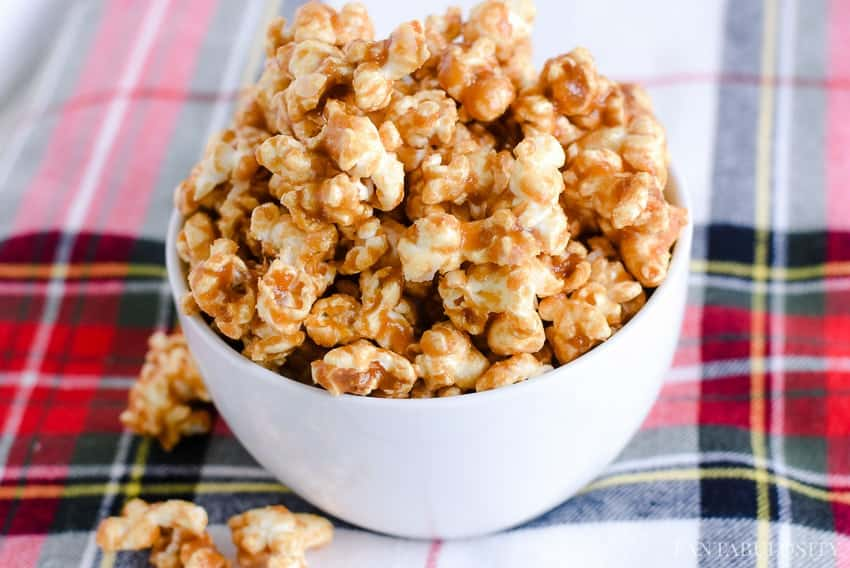 Caramel Corn Recipe - Easy and Quick with no baking. The buttery flavor in this is dynamite!