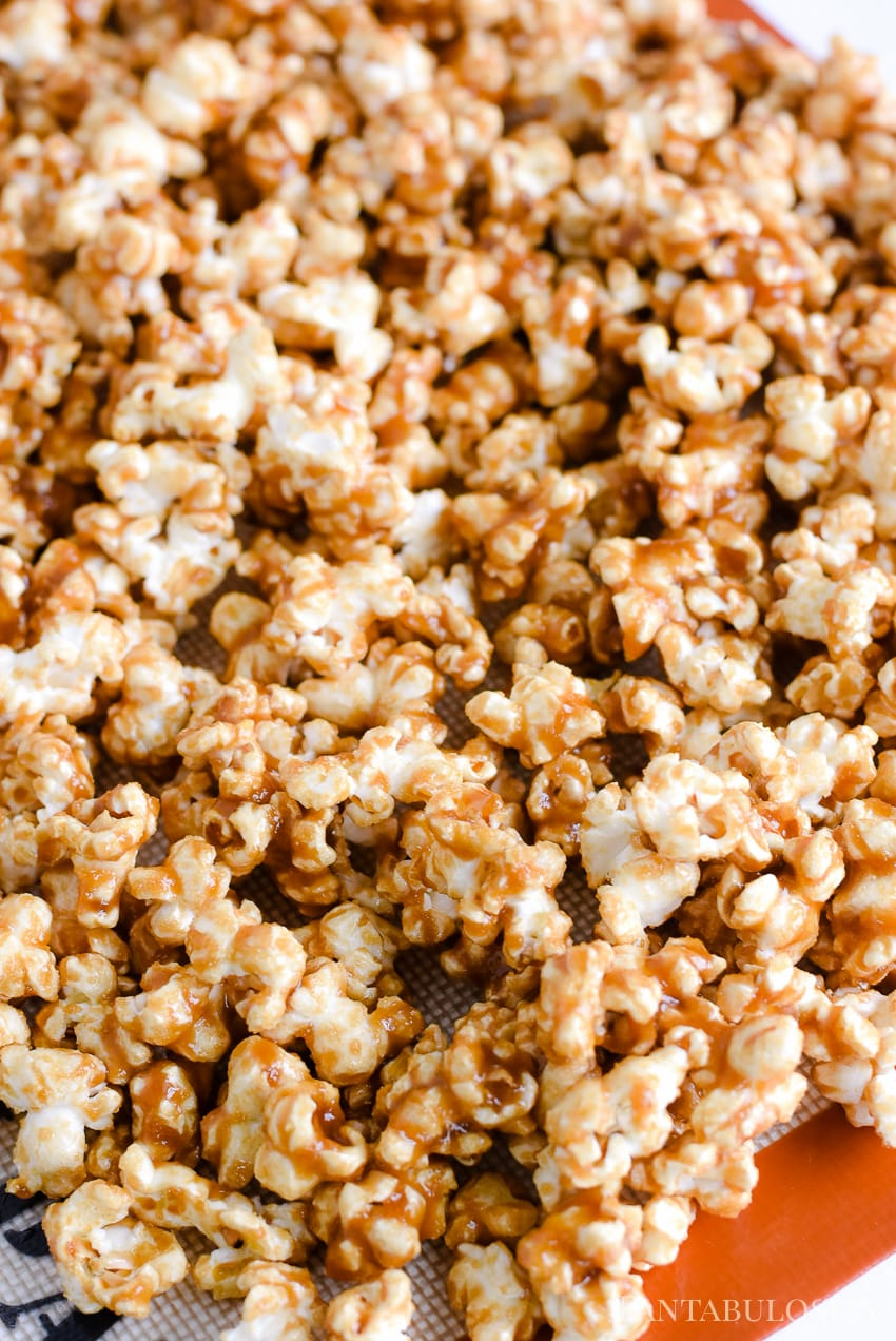 Caramel Corn Recipe - easy