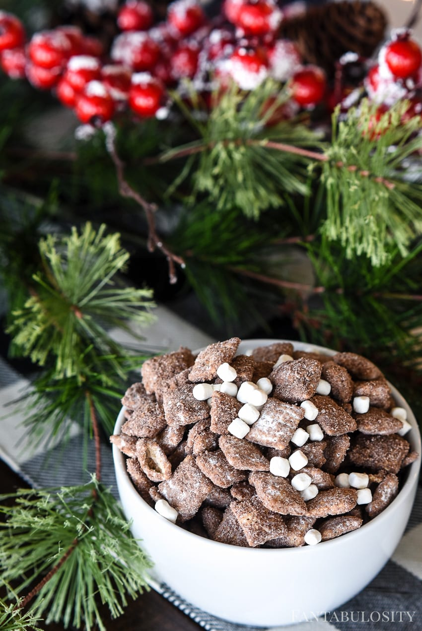 Hot Cocoa Muddy Buddies Recipe