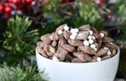 Hot Chocolate Muddy Buddies