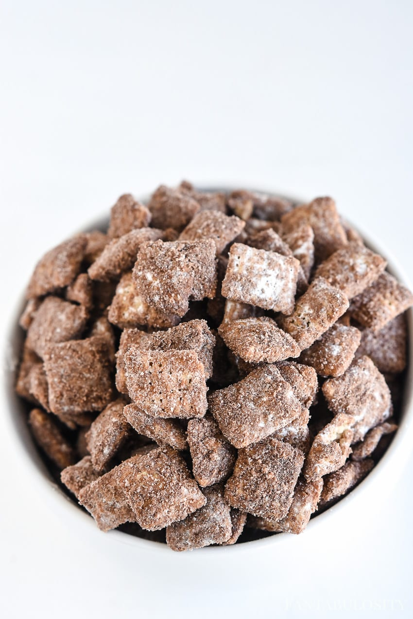 Hot Chocolate Muddy Buddies Recipe