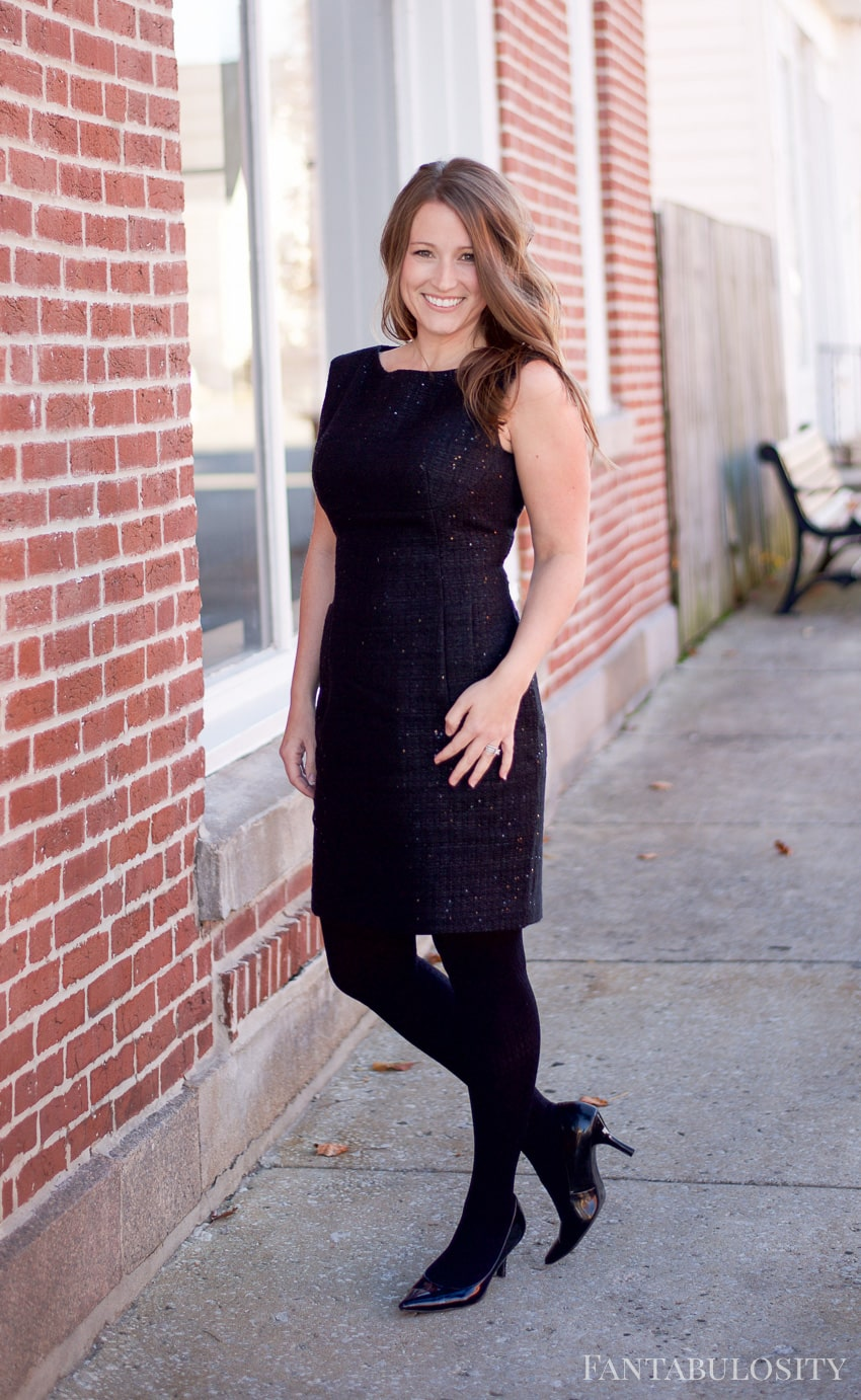 Macy's Anne Klein Sequined Sheath Dress - perfect for a party or holiday event