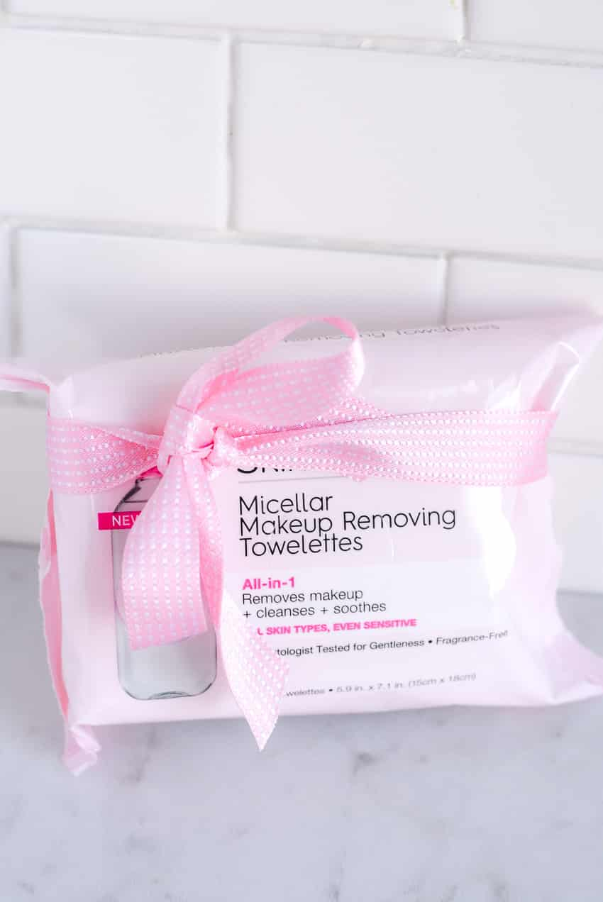 Face wipes for overnight care gift idea