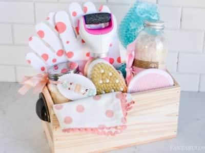 Spa at Home Gift Basket Idea - Fantabulosity
