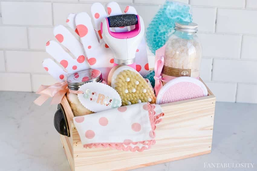 Spa at Home Gift Basket Idea - Fantabulosity