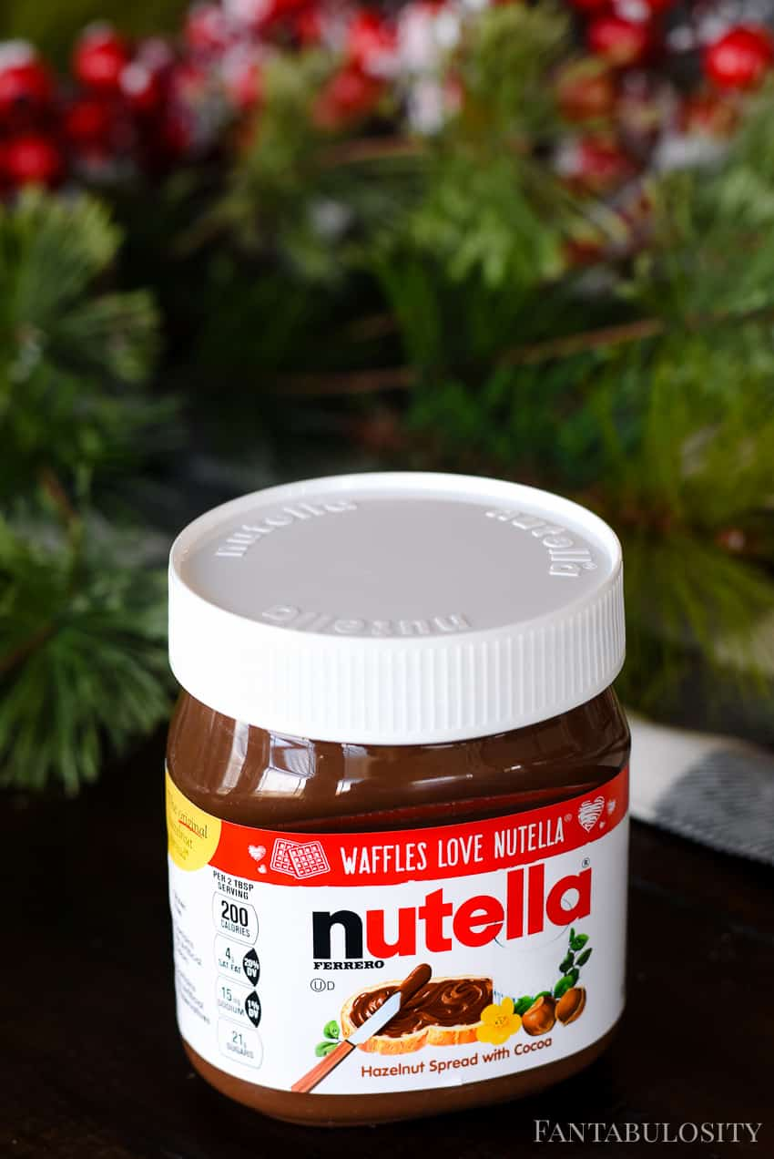 Nutella - Cheesecake recipe with a no bake filling