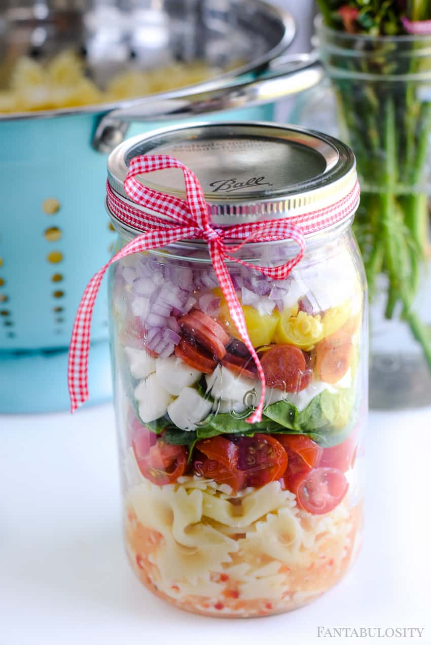 Care package meals to go: Easy Pasta Salad Side Dish Idea