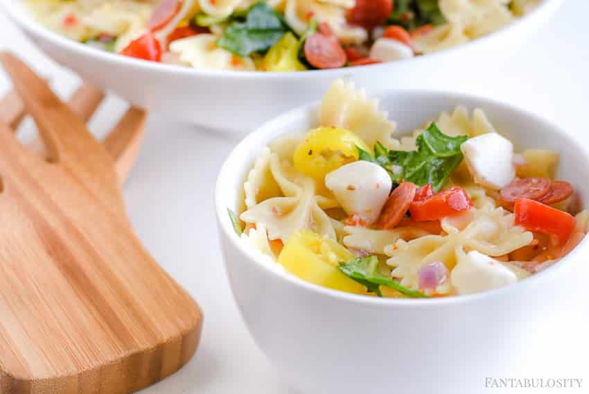 Pasta Salad Recipe Cold Italian Style And So Easy