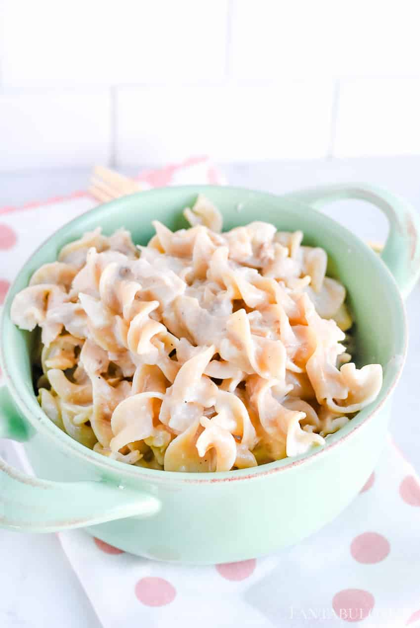 Chicken and noodles recipe - by far the best and so easy to whip up on a weeknight!
