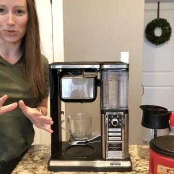 How do you use a ninja coffee maker