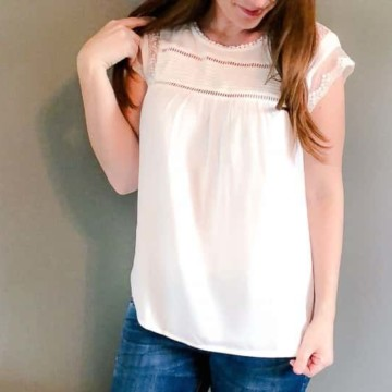Stitch Fix April 2018 Review Try On and Unboxing video and photos